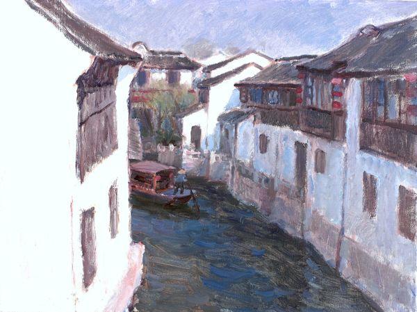 ——摘自尚輝《意象江南——從沈行工江南風景看中國油畫